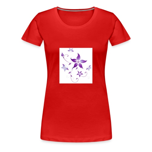 Purple beauty - Women's Premium T-Shirt