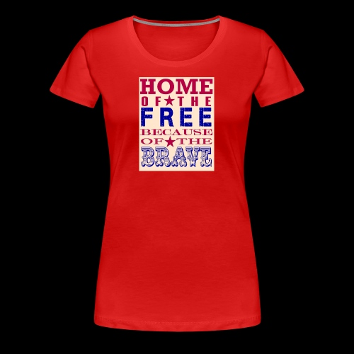 4th of July saying - Women's Premium T-Shirt
