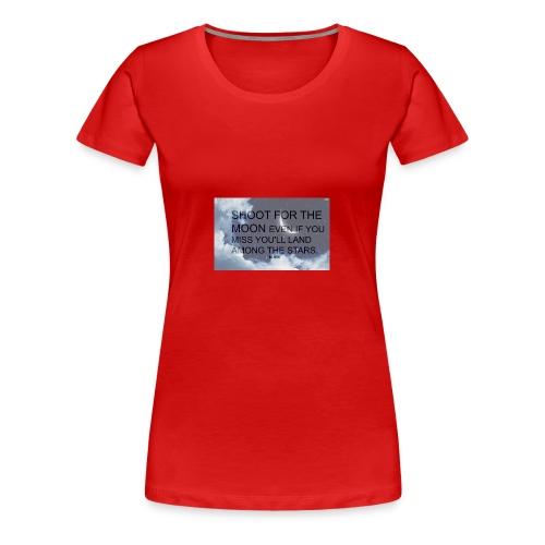 simple background white background wallpaper 1 - Women's Premium T-Shirt