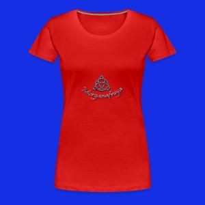 Morganafreya Celtic Knot Icon - Women's Premium T-Shirt