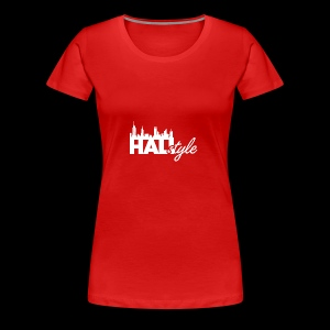 HALIStyle City Skyline - Women's Premium T-Shirt