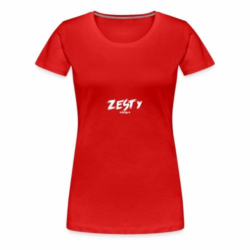Team Zesty Black Clothing - Women's Premium T-Shirt