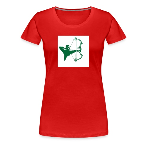 man with bow - Women's Premium T-Shirt