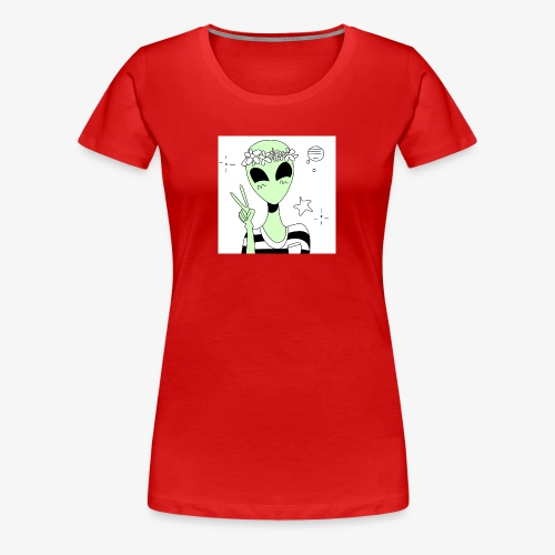 AlienZone Case - Women's Premium T-Shirt