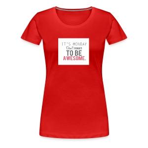 Back to school - Women's Premium T-Shirt