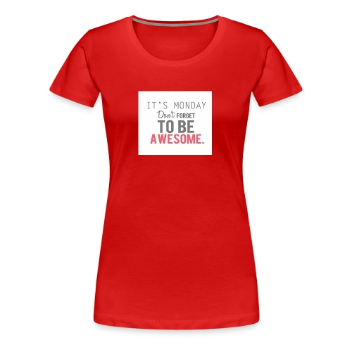 Back to school - Women's Premium T-Shirt