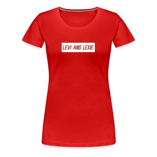 Levi and Lexie Classic Logo - Women's Premium T-Shirt