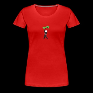 Cool Mine Craft Design - Women's Premium T-Shirt