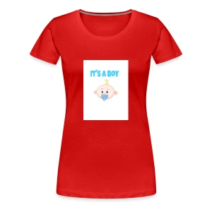 It-s_a_boy_tshirt - Women's Premium T-Shirt