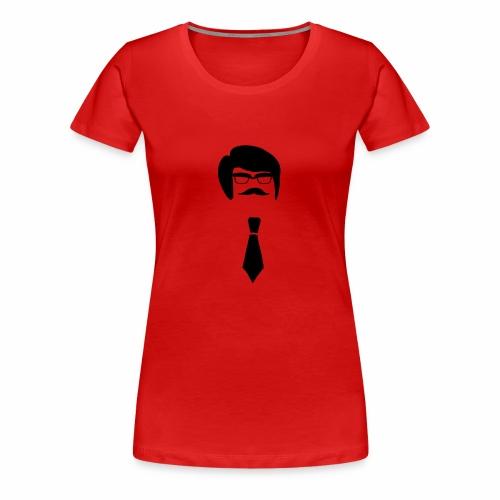 Hipster Guy - Women's Premium T-Shirt
