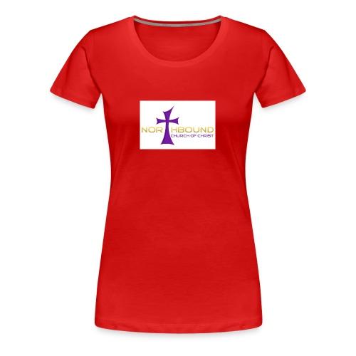NB long logo - Women's Premium T-Shirt
