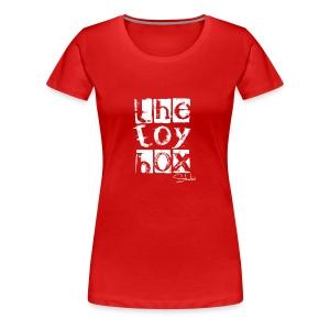 The Toy box Studio - White Logo - Women's Premium T-Shirt