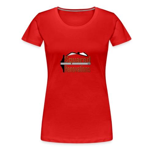 Squared Renovations LLC - Women's Premium T-Shirt
