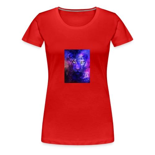 glowing leopard - Women's Premium T-Shirt