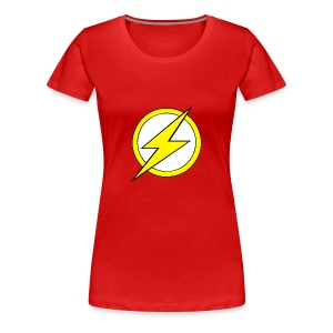 Kid Flash Logo - Second Channel - Women's Premium T-Shirt