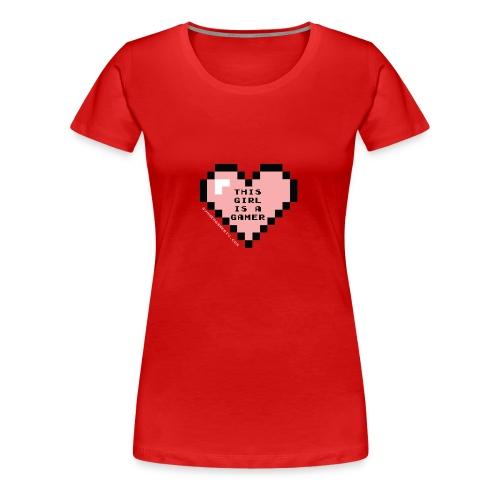 summergamertv t shirt pink black 01 - Women's Premium T-Shirt