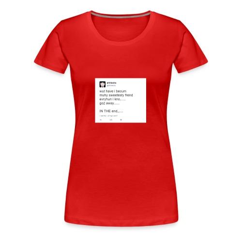 disgusting twitter ... - Women's Premium T-Shirt