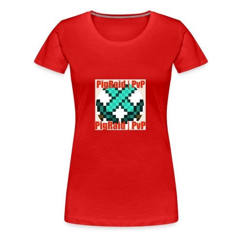 PigRaid Custom Logo - Women's Premium T-Shirt