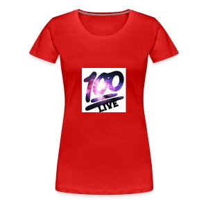 living 100 - Women's Premium T-Shirt