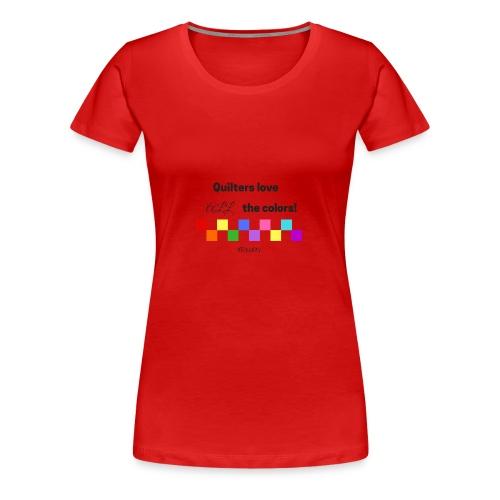 Love Color - Women's Premium T-Shirt