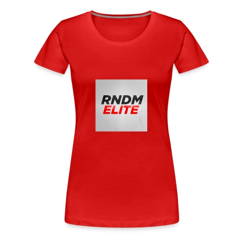 RNDM ELITE logo - Women's Premium T-Shirt