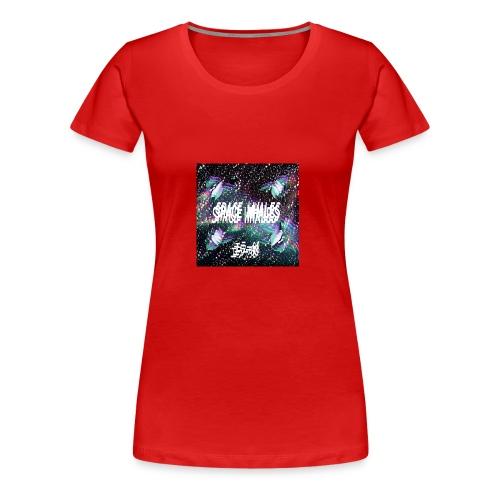 Space Whales Album Cover - Women's Premium T-Shirt
