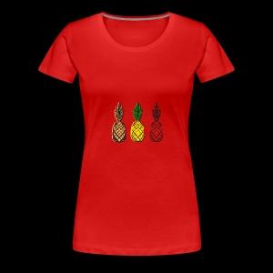 XTL Pineapple - Women's Premium T-Shirt