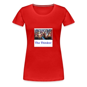 the thinker - Women's Premium T-Shirt