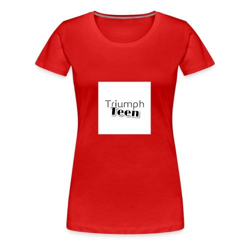 Triumph Teen Merch - Women's Premium T-Shirt