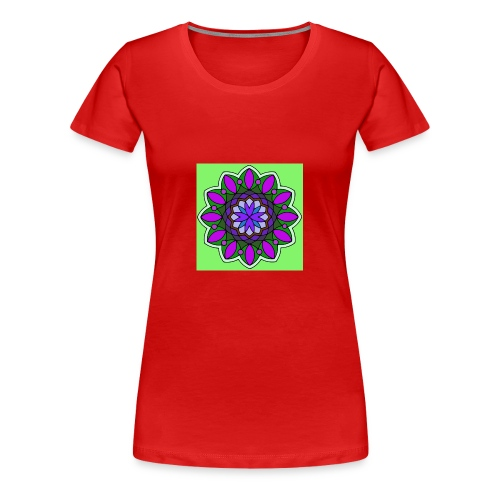 flower of love - Women's Premium T-Shirt