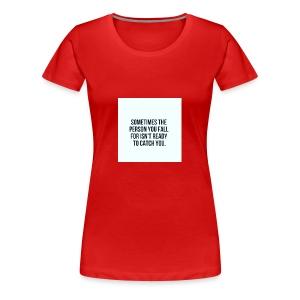 Crushing - Women's Premium T-Shirt