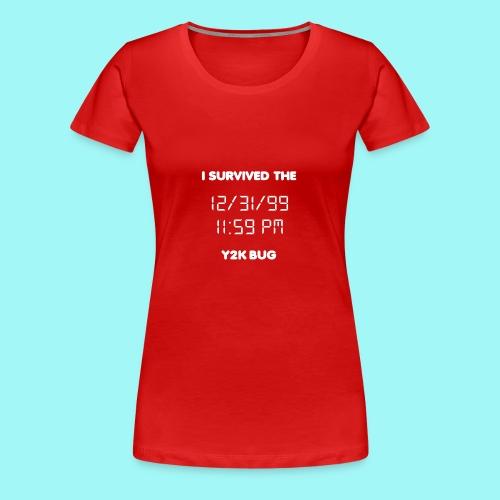 Y2K Bug - Women's Premium T-Shirt