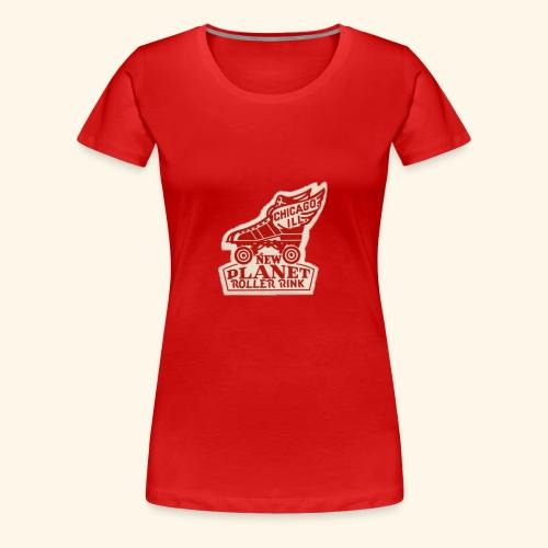 skate geex chi - Women's Premium T-Shirt