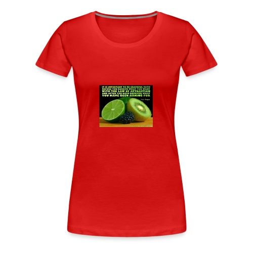 Be Grateful - Women's Premium T-Shirt
