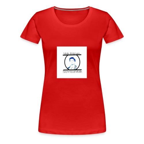 Technical Malik Logo - Women's Premium T-Shirt