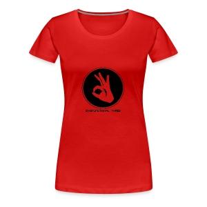 Dysfunctional three LOGO - Women's Premium T-Shirt
