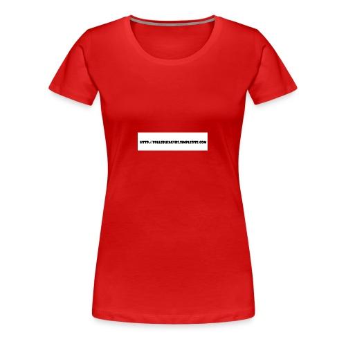 Nettadresse follebuvbs - Women's Premium T-Shirt