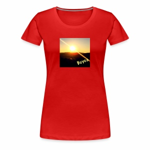 Sunset in the Valley - Women's Premium T-Shirt