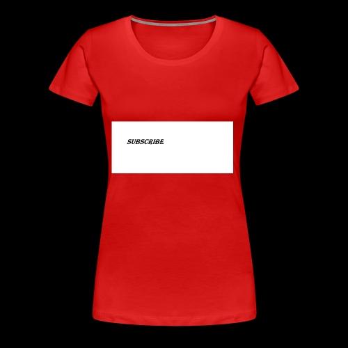 Subscribe iphone case - Women's Premium T-Shirt
