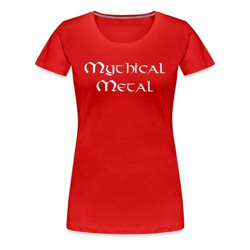 Mythical Metal Logo - Women's Premium T-Shirt