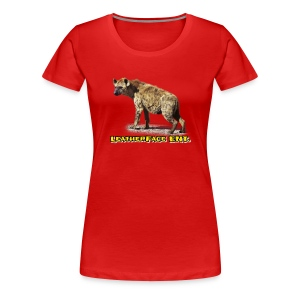 Limited edition Hyena Shirts/Long Sleeves - Women's Premium T-Shirt