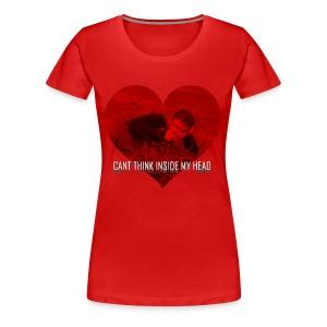 Can't Think Inside My Head - Women's Premium T-Shirt