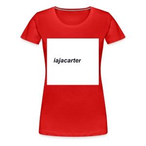 iajacarter - Women's Premium T-Shirt