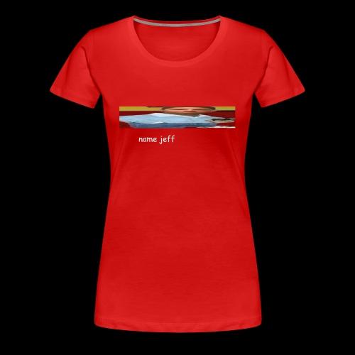 jeff - Women's Premium T-Shirt