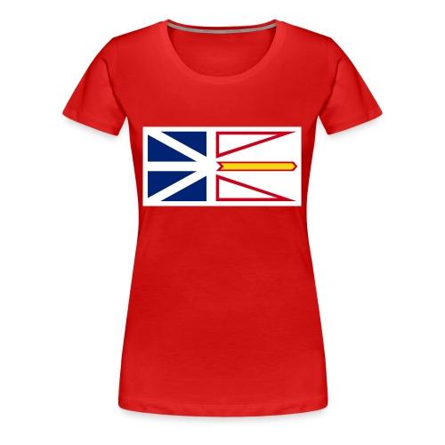 1200px Flag of Newfoundland and Labrador svg - Women's Premium T-Shirt