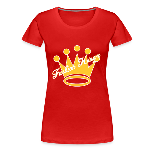 Fashion Kingz Clothing Official Crown Logo - Women's Premium T-Shirt