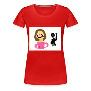 we are two of a kind - Women's Premium T-Shirt