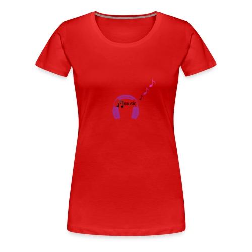for music lover - Women's Premium T-Shirt