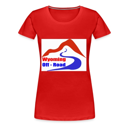 Wyoming Off Road Logo - Women's Premium T-Shirt