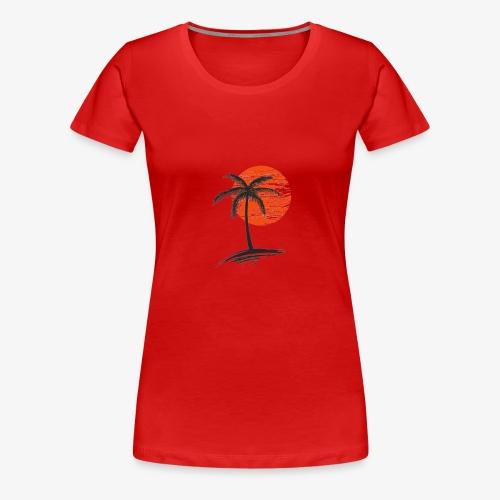 Palm Tree Original - Women's Premium T-Shirt